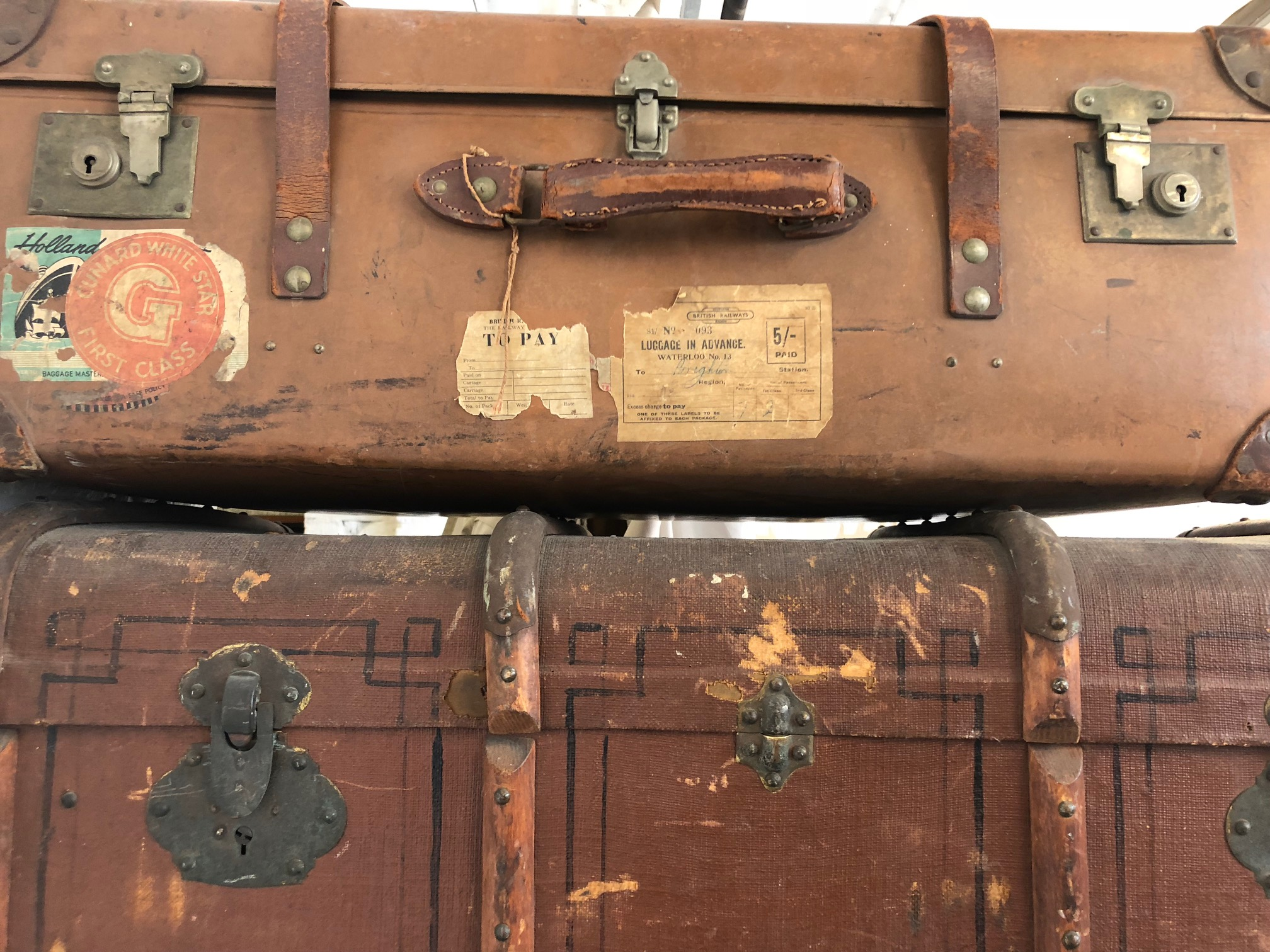 Valises & malles anciennes