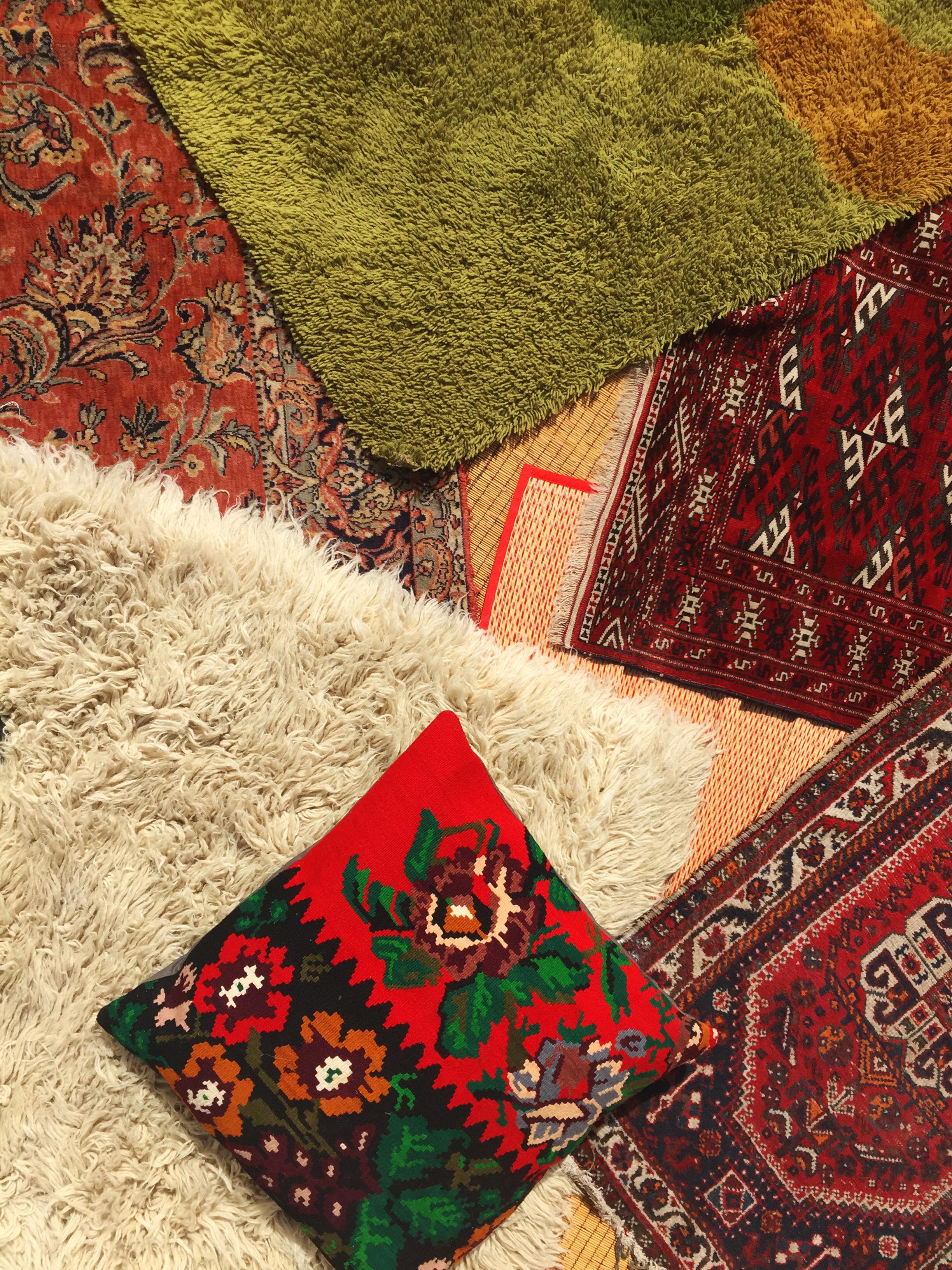 Tapis (persans, flokati,carpettes...