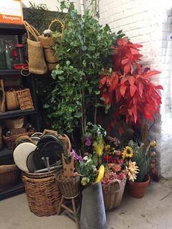 Fausses plantes et fleurs