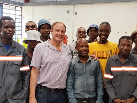 Start of Industry Mechatronics Training at CITF, Gaborone, Botswana