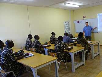 Graduation of the first Automobile Mechatronics Class of the Namibian Defence Force after two years.