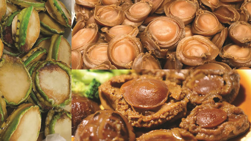 Abalone : Frozen, Dried & Ready to Eat