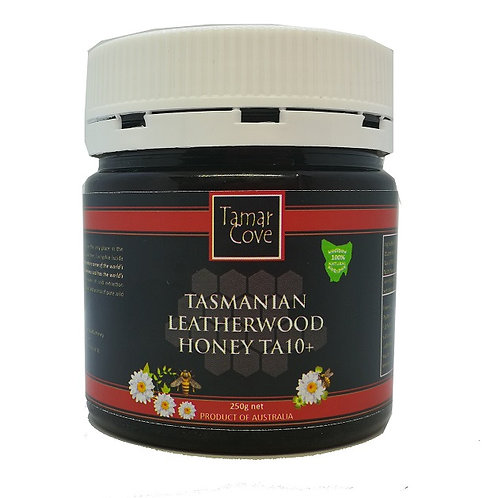 Tasmanian Leatherwood TA10+ 250g