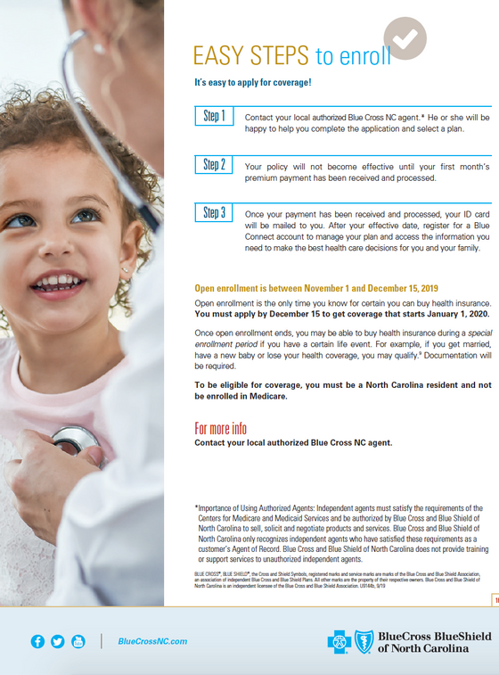 BCBSNC Individual Health Plans - Pg 9.pn