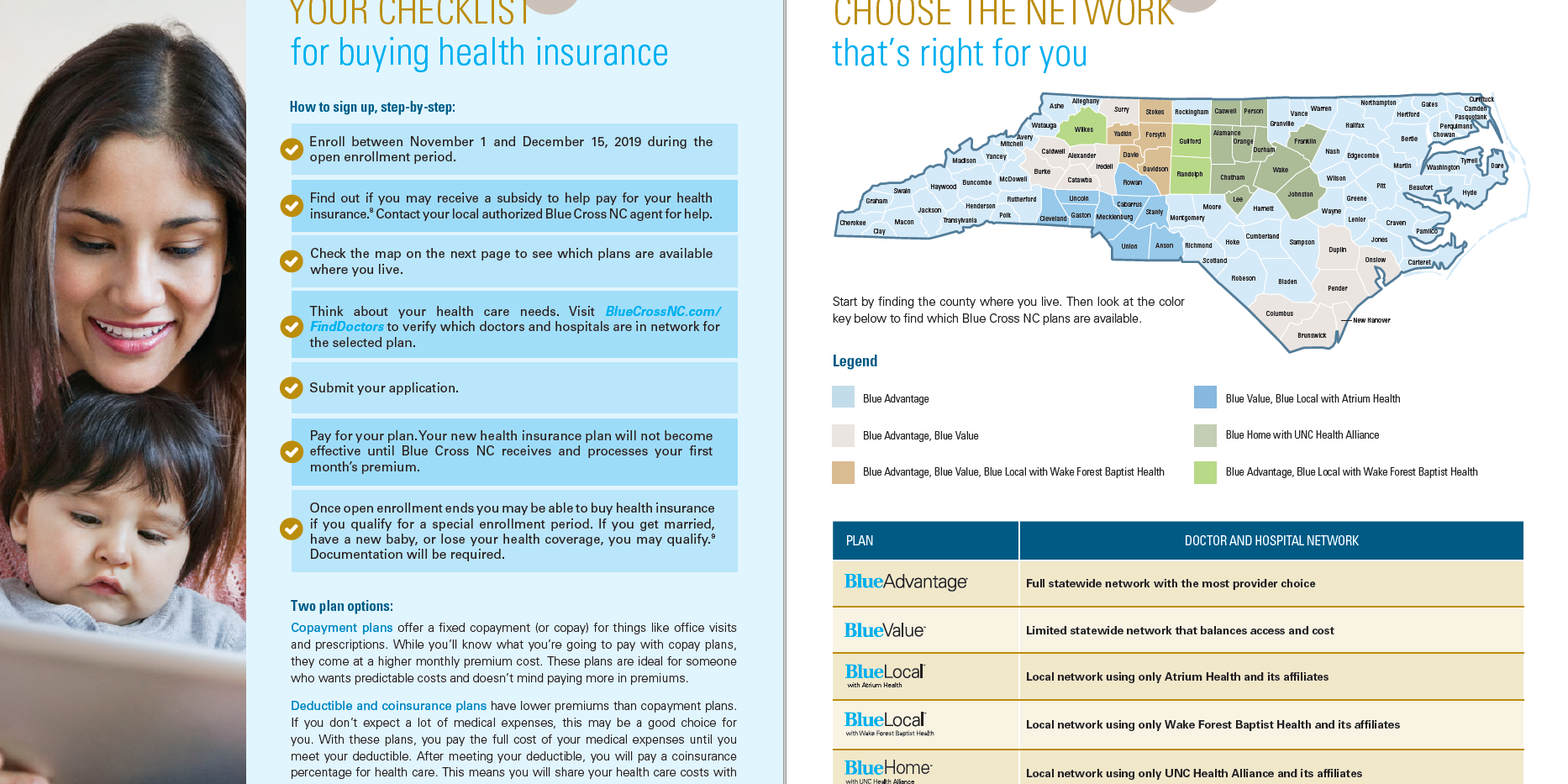 BCBSNC Individual Health Plans - Pg 3.pn