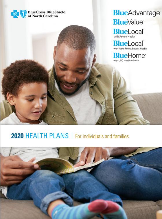 BCBSNC Individual Health Plans - Pg 1.pn