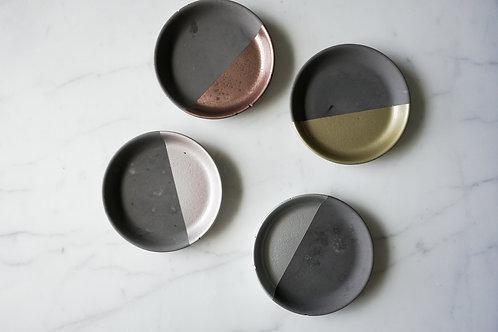 Round Concrete Ring Dish