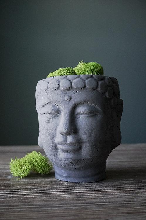 Concrete Buddha Planter