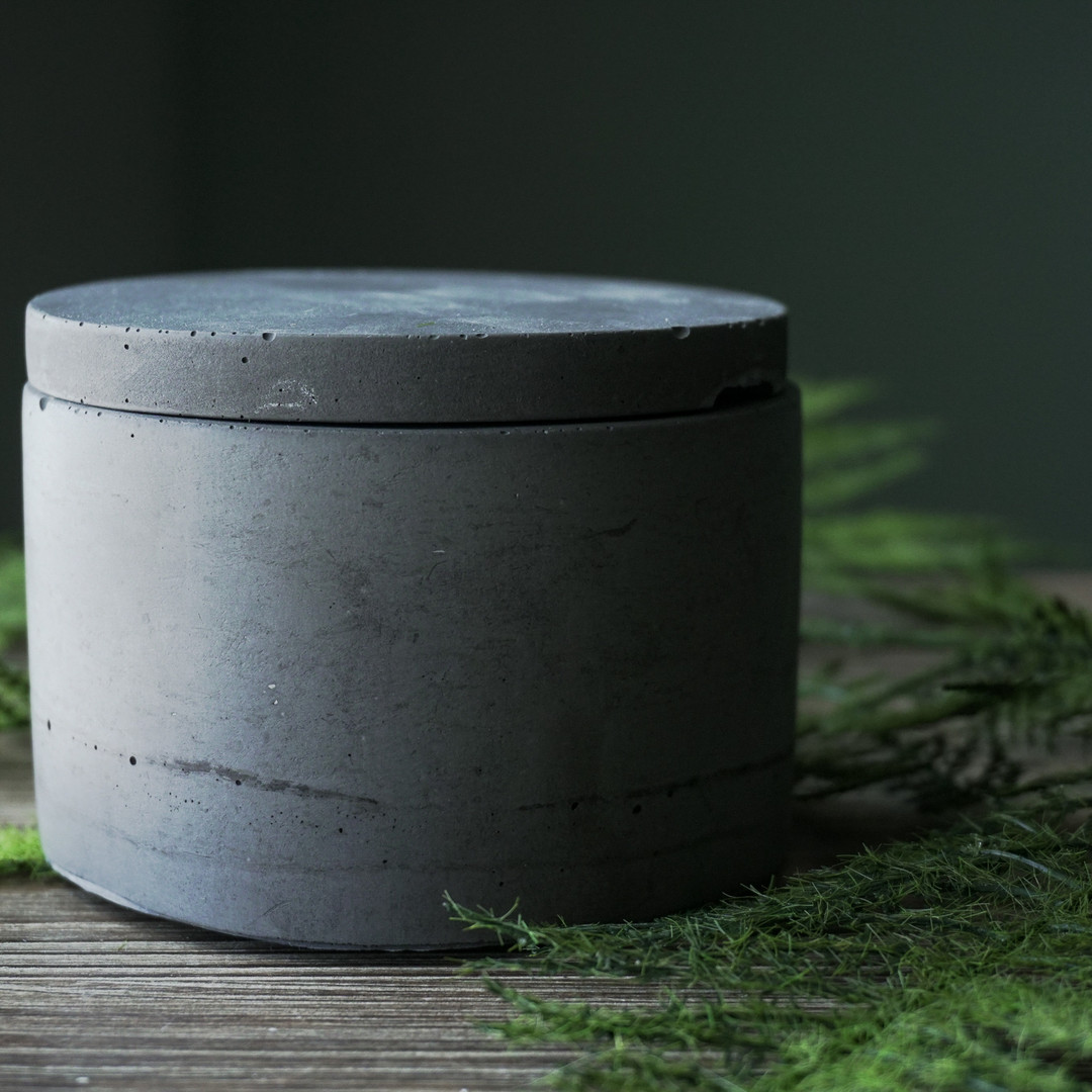 concrete jar