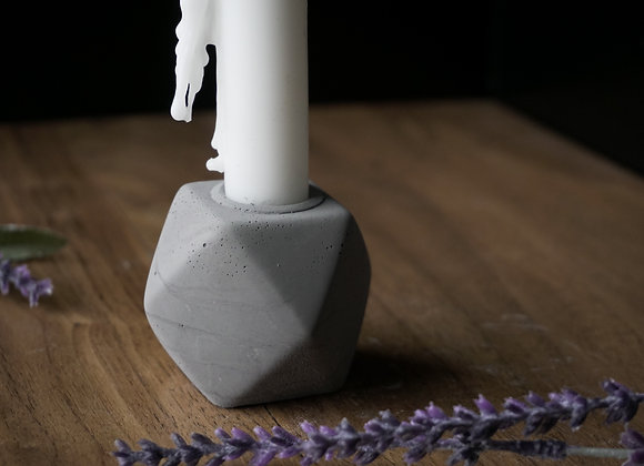 Concrete Taper Candle Holder