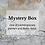 Mystery box, One of a kind concrete home decor and planters, Handmade eco-friendly home decor