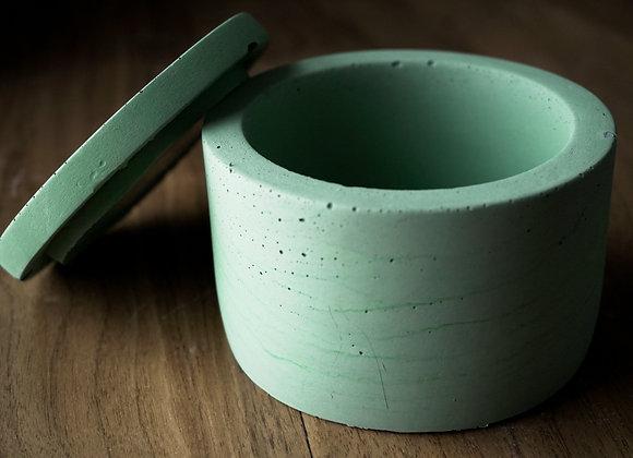 Concrete Jar with Lid