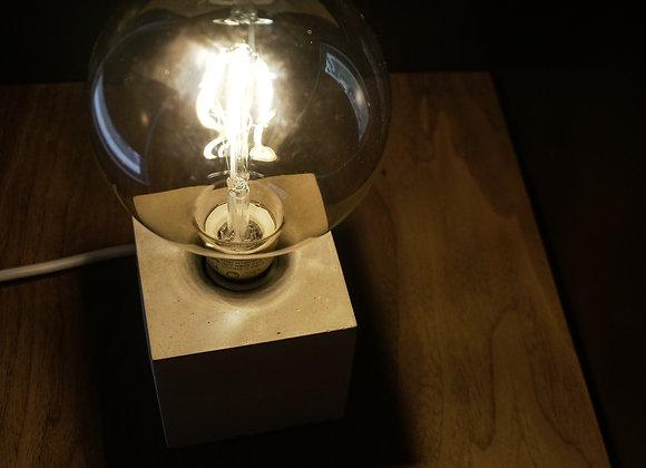 Square Concrete Table Lamp