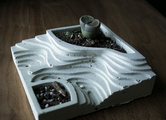 Topographical Planter