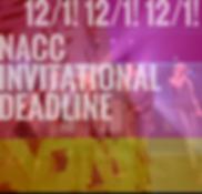 collegiate competition deadline announce