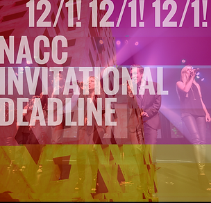 collegiate competition deadline announce