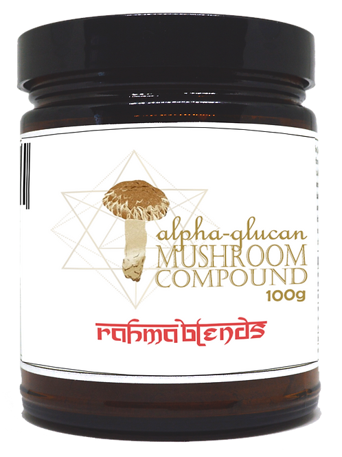 Alpha-Glucan Mushroom Compound
