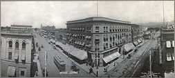8th & Main With Streetcar in Boise - 190