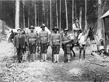 Above and Beyond: African American Troops' Service in the Coeur d'Alene's -1892-1910.