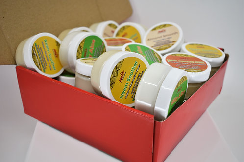 Butter Box 1: 2 ounce samples (20 jars included)
