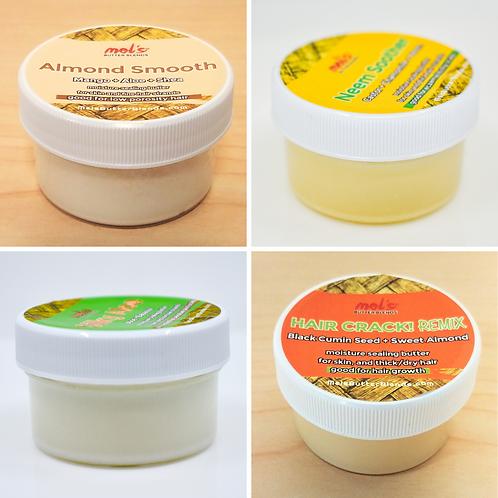 5 Butter Sampler | 1oz. SAMPLE BUNDLE