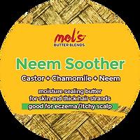 Mel's Butter Blends Neem Soother Eczema Butter