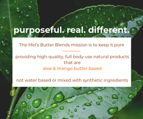 Natural Products for Hair And Skin | Mel's Butter Blends
