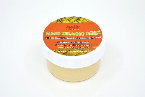 Hair Crack! REMIX Butter Blend | Moisture Sealing Butter for Hair + Skin 1oz.