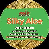 Mel's Butter Blends Silky Aloe | Aloe + Babassu Butter Blend