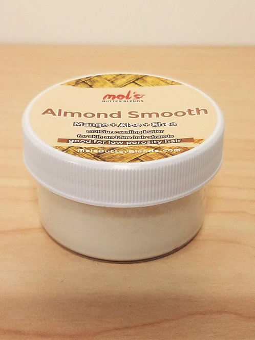 Almond Smooth: Mango + Aloe + Shea Butter Blend 1oz. SAMPLE