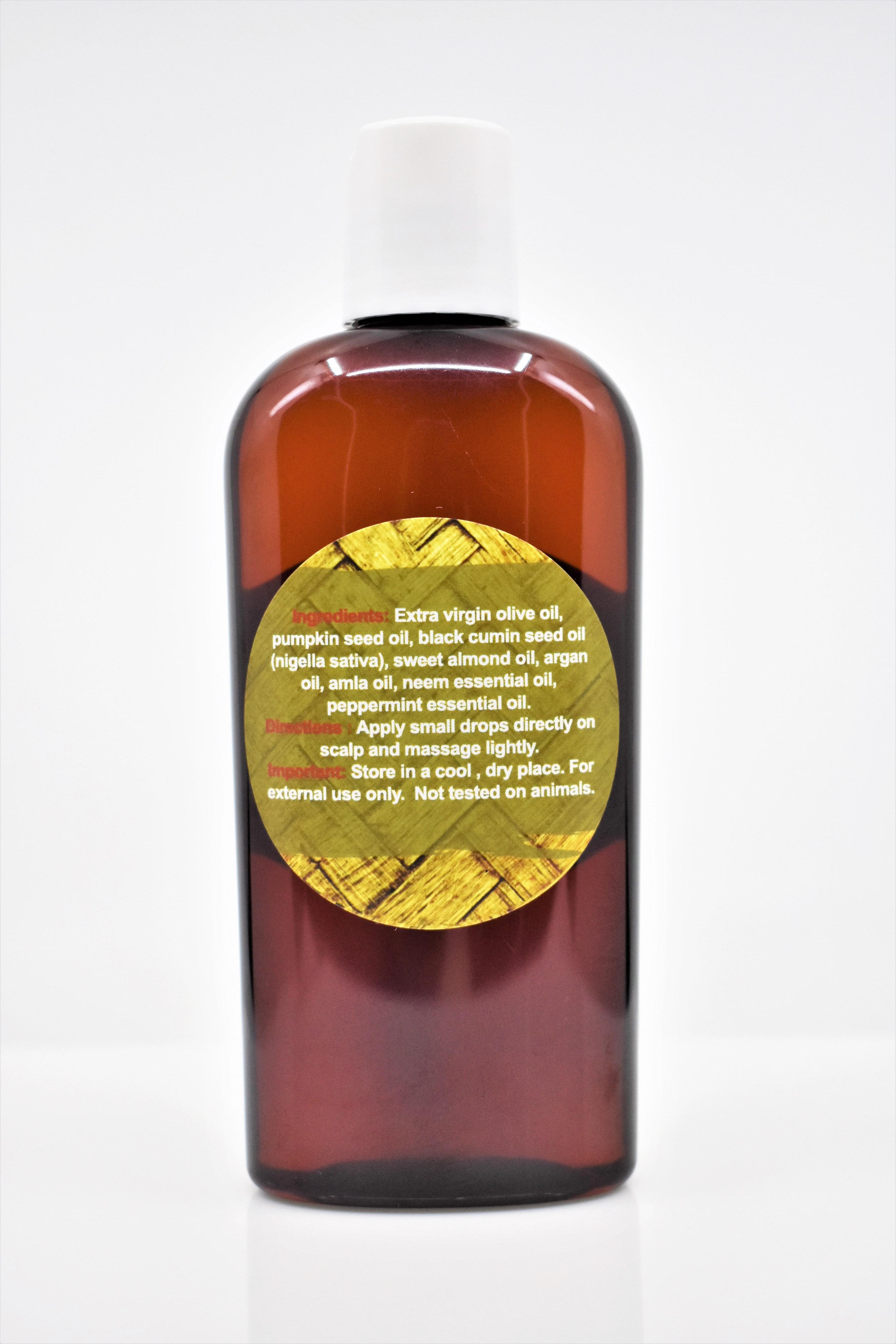 Mel S Scalp Stimulation Oil Hair Growth Essential Oil Blend 4oz Melsbutterblends