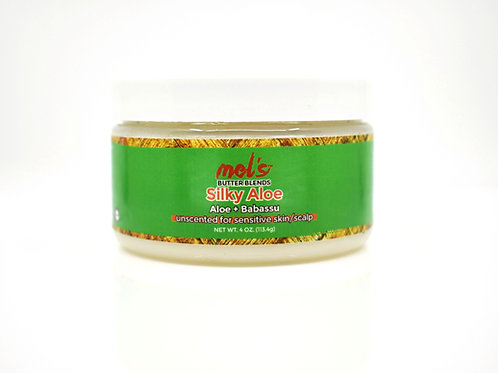 Silky Aloe Butter Blend | Moisture Sealing Butter for Face + Skin + Hair