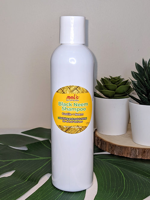 Black Neem Shampoo & Body Wash 8oz.