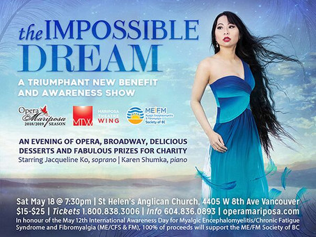 Get your tickets for Opera Mariposa's Impossible Dream