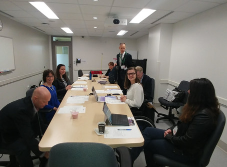 Patients and patient reps meet with the CIHR's new Director at 2018 Montreal Conference