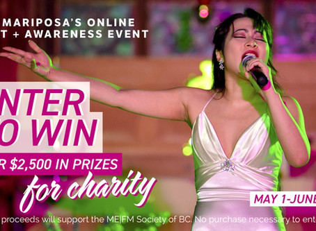 Opera Mariposa's 2020 Benefit + Awareness Online Campaign