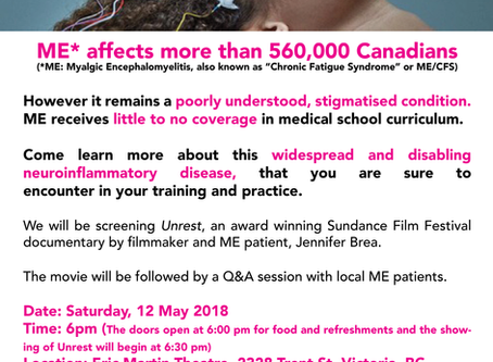 Victoria Screening of UNREST - May 12