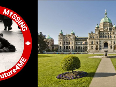 Join our Victoria, BC, Millions Missing May Awareness Action