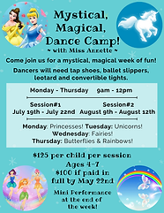 Magical, Mystical, Dance Camp 2021 Final