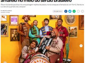Beatles Cordel coloca um submarino amarelo no meio do sertão brasileiro (Jornal O Tempo)