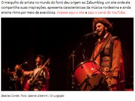 Banda Beatles Cordel lança disco que dá ares nordestinos aos Beatles (Culturadoria)