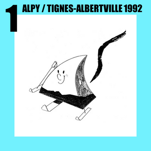 Alpy, the mountain on mono-skis, was the star of the Tignes-Albertville 1992 Paralympic Winter Games