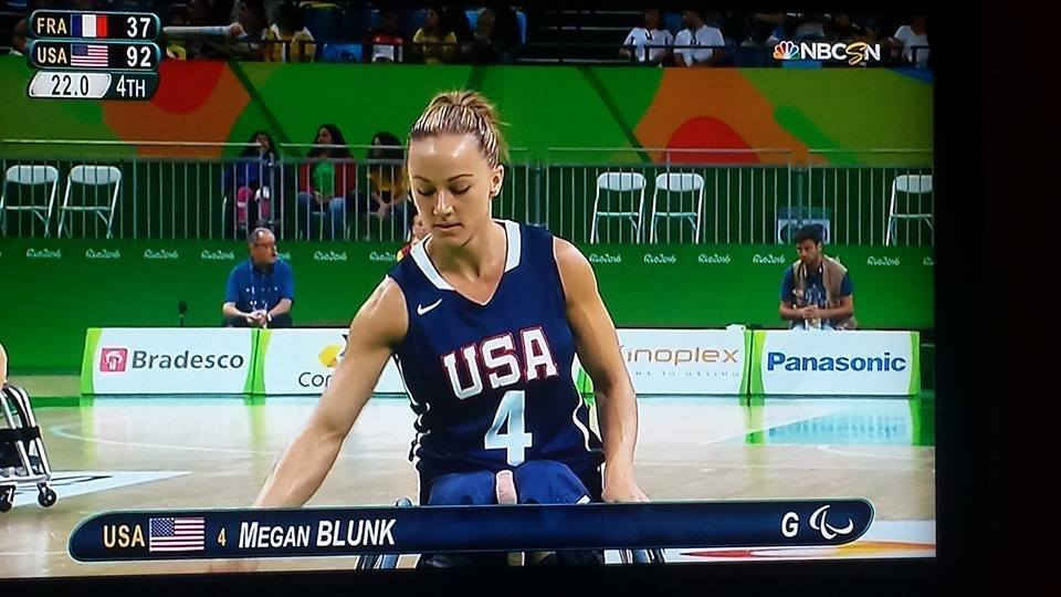 US Wheelchair Basketball champion Megan Blunk in action I Interview with Parasports World