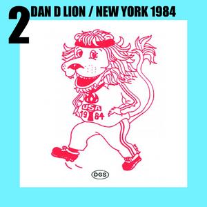 Dan D Lion - mascot of the Paralympic Games New York 1984