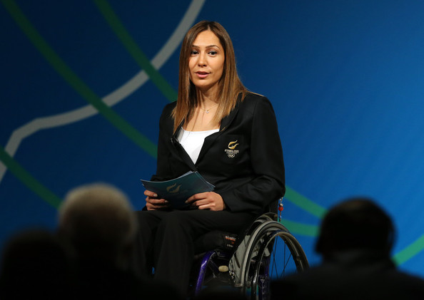 Paralympic Gold Medallist Gizem Girişmen in action as Sports Advisor to the Turkish Ministry of Youth and Sports