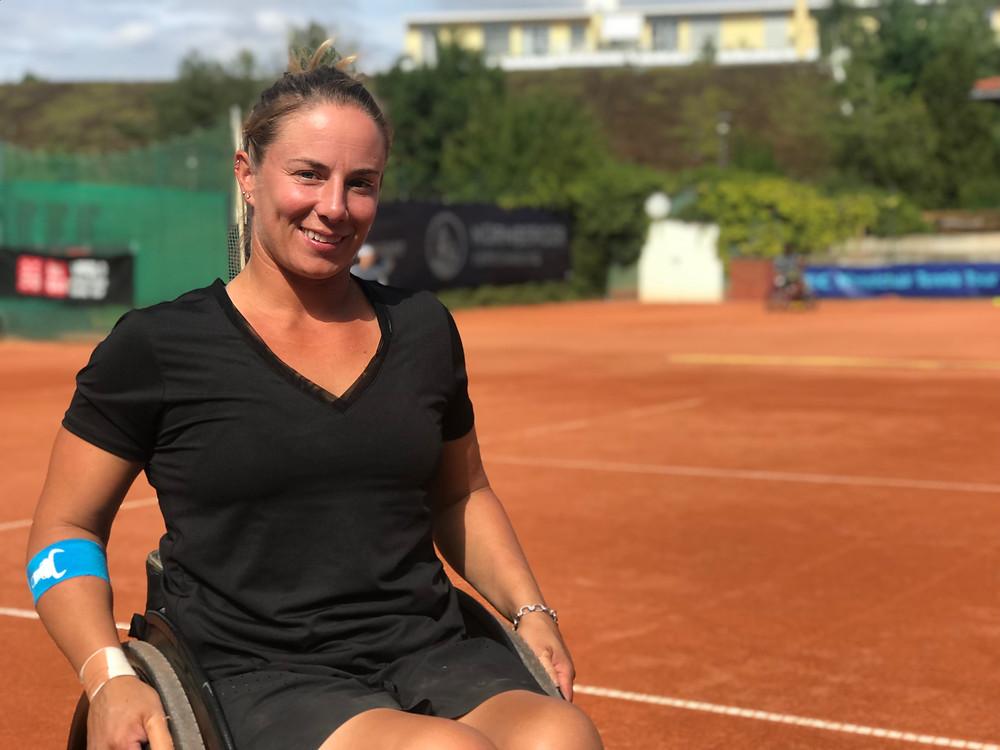 Lucy Shuker at the 2019 Wheelchair Tennis German Open in Berlin