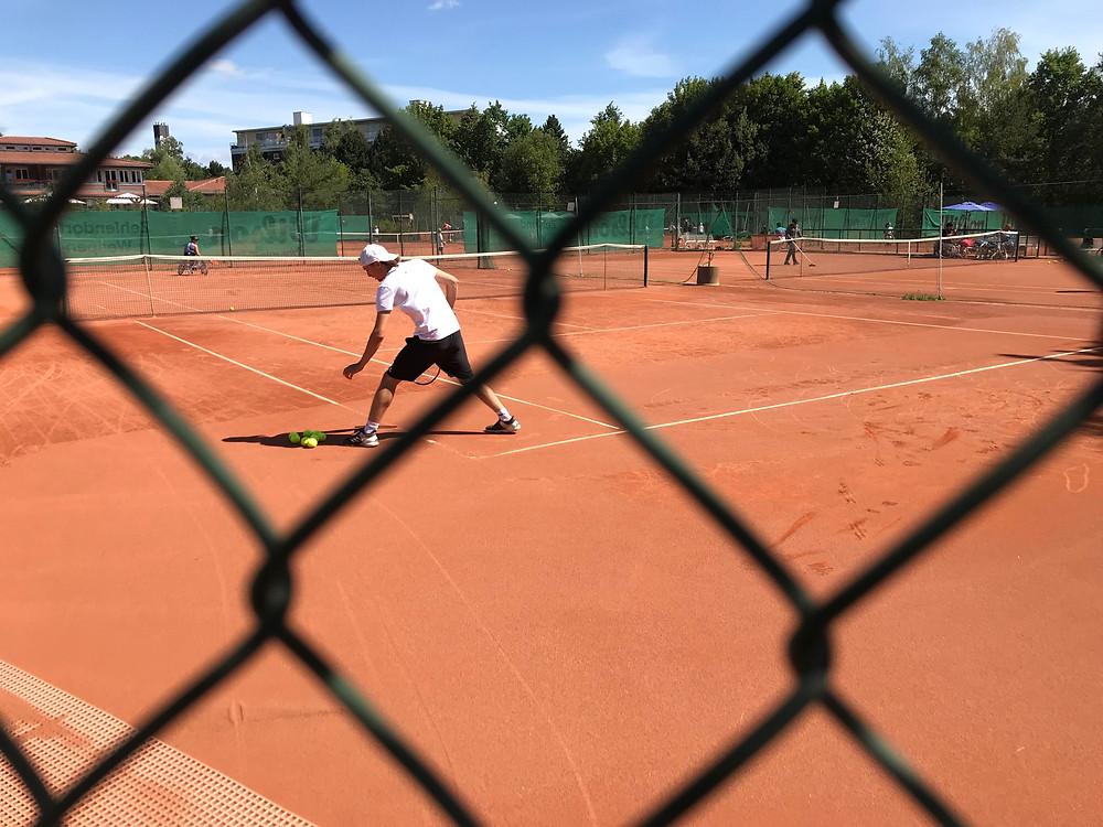 Niklas Höfken at the German Wheelchair Tennis Open 2019 // Parasports World