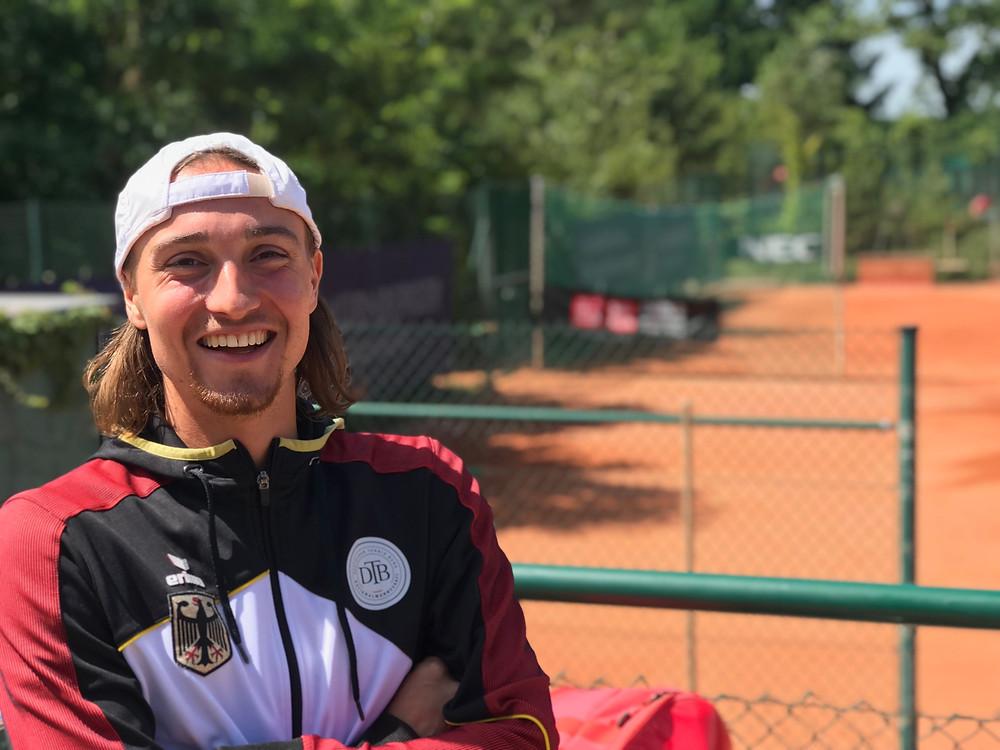 Niklas Höfken // German Wheelchair Tennis Open 2019 // Parasports World