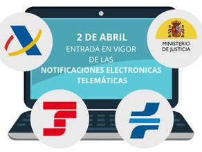 Ya es un hecho, las notificaciones electrónicas se publican en las plataformas de las AAPP.
