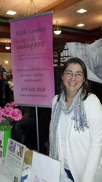 Edith Lambert coach EFT Sherbrooke
